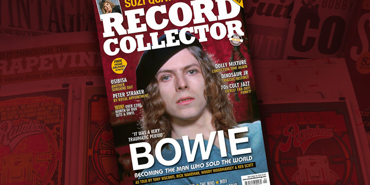 Record Collector magazine with David Bowie on the cover
