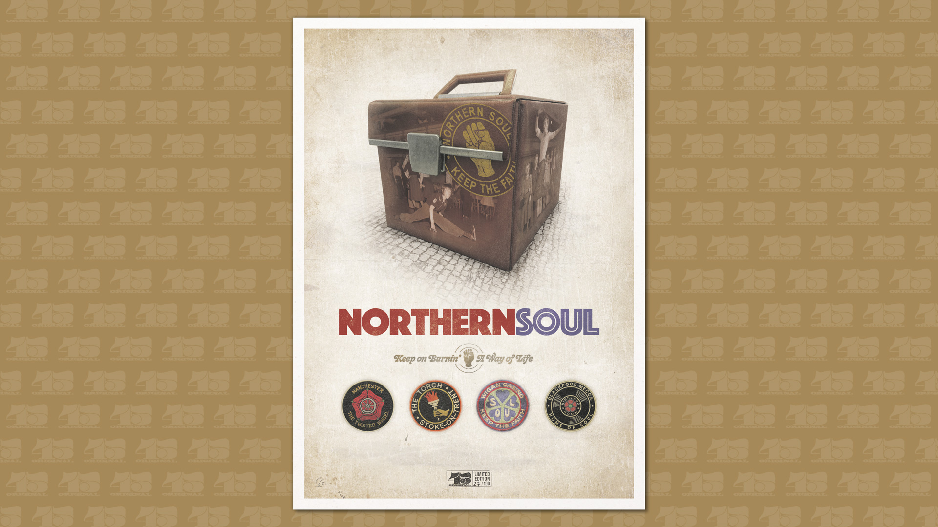 NORTHERN SOUL SUBCULTURE PRINTS